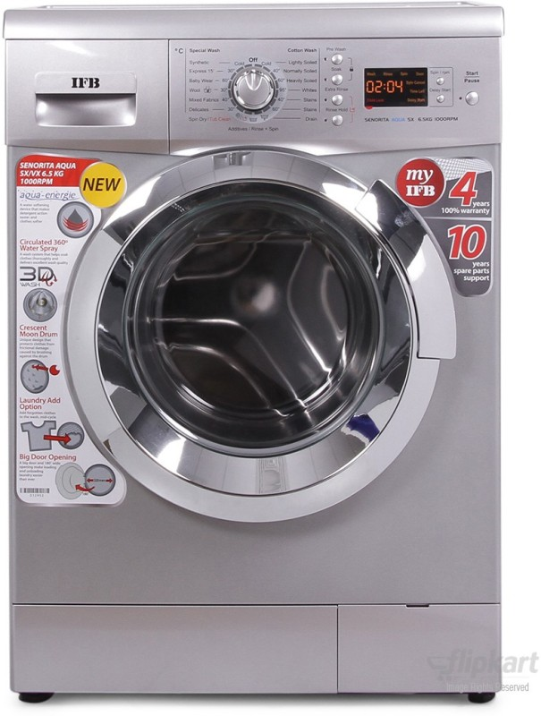 IFB 6.5 kg Fully Automatic Front Load Washing Machine(Senorita Aqua...