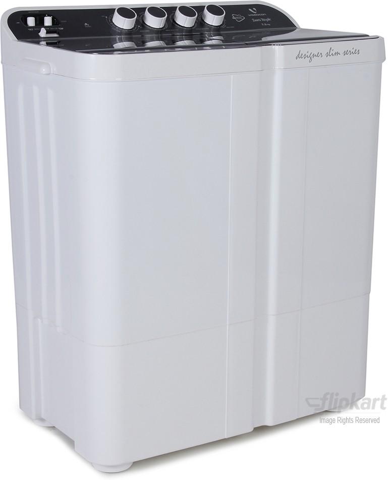 VIDEOCON ZAARA ROYALE VS75Z11 7.5KG Semi Automatic Top Load Washing Machine