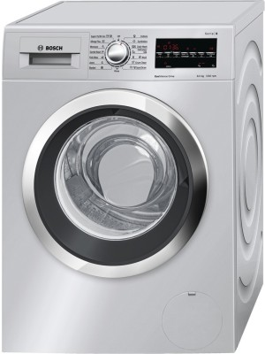 Bosch 8 kg Fully Automatic Front Load Washer Only Silver (WAT 24 468 IN)
