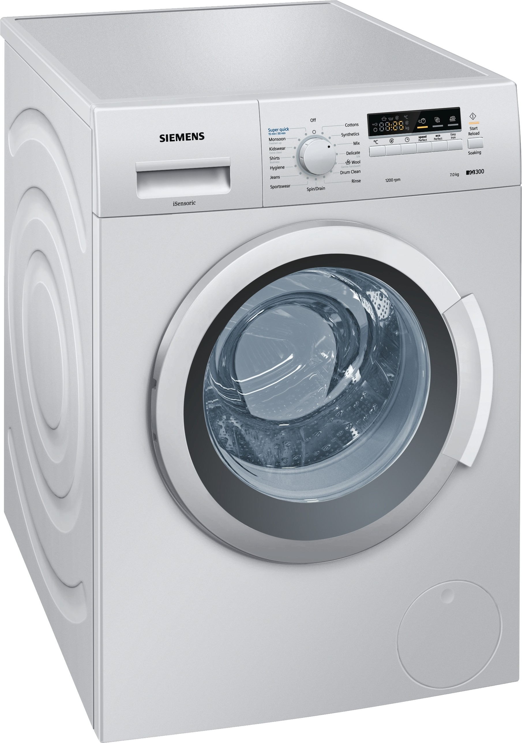 SIEMENS WM12K268IN 7KG Fully Automatic Front Load Washing Machine