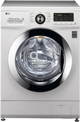 LG 8 kg Fully Automatic Front Load Washer with Dryer (F1296ADP23)