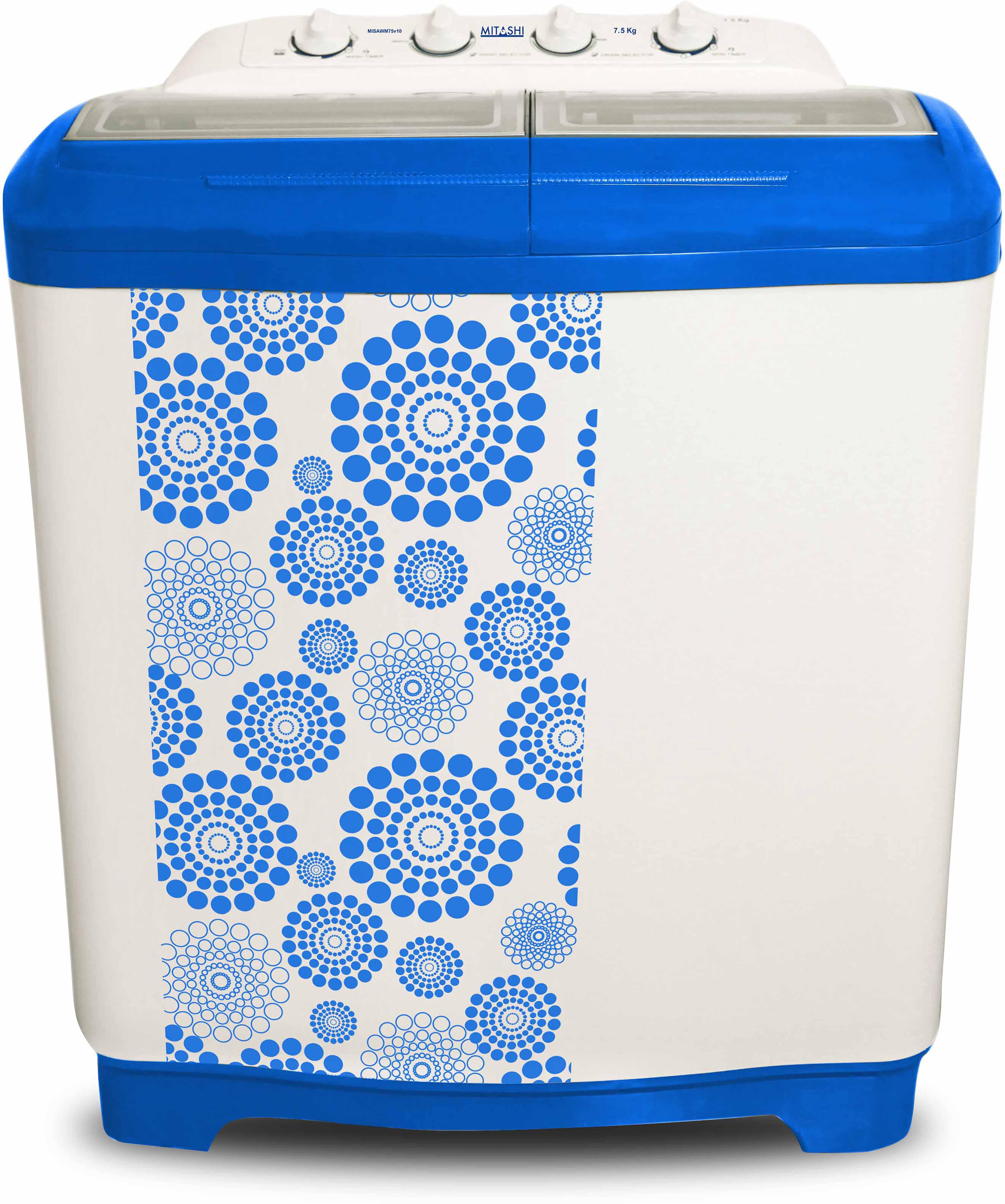 MITASHI MISAWM75V 7.5KG Semi Automatic Top Load Washing Machine