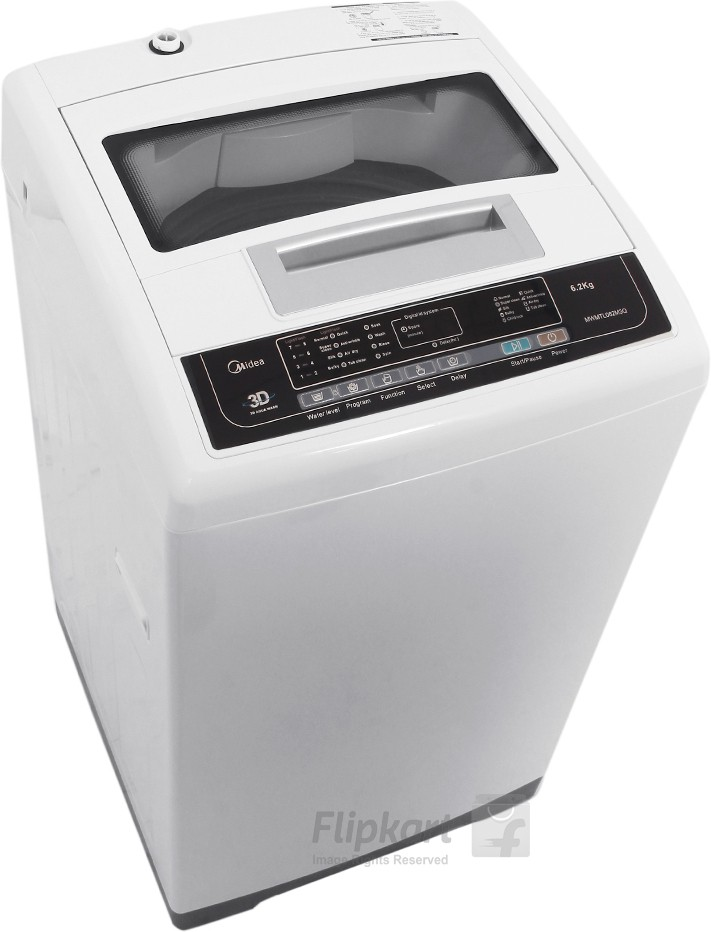 View Midea 6.2 kg Fully Automatic Top Loading Washing Machine  Price Online