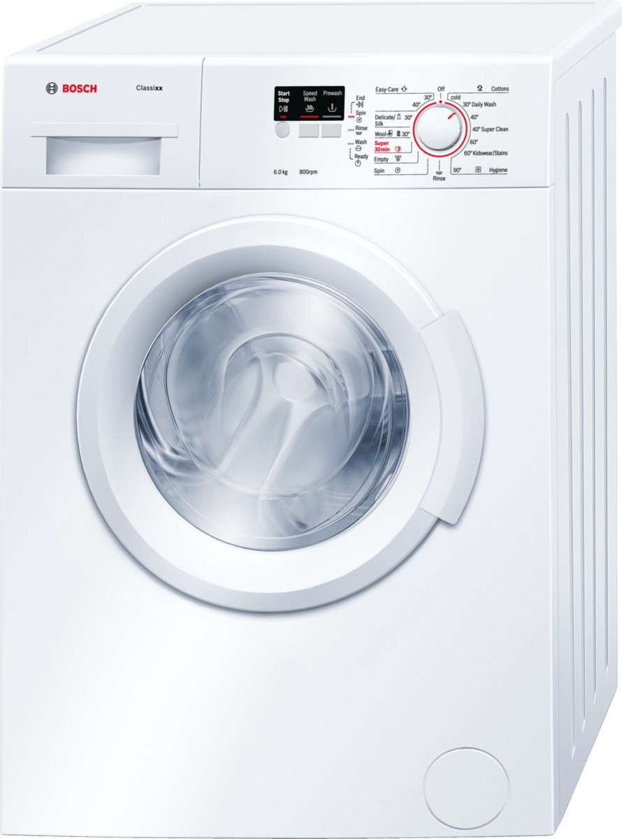 BOSCH WAB16060IN 6KG Fully Automatic Front Load Washing Machine