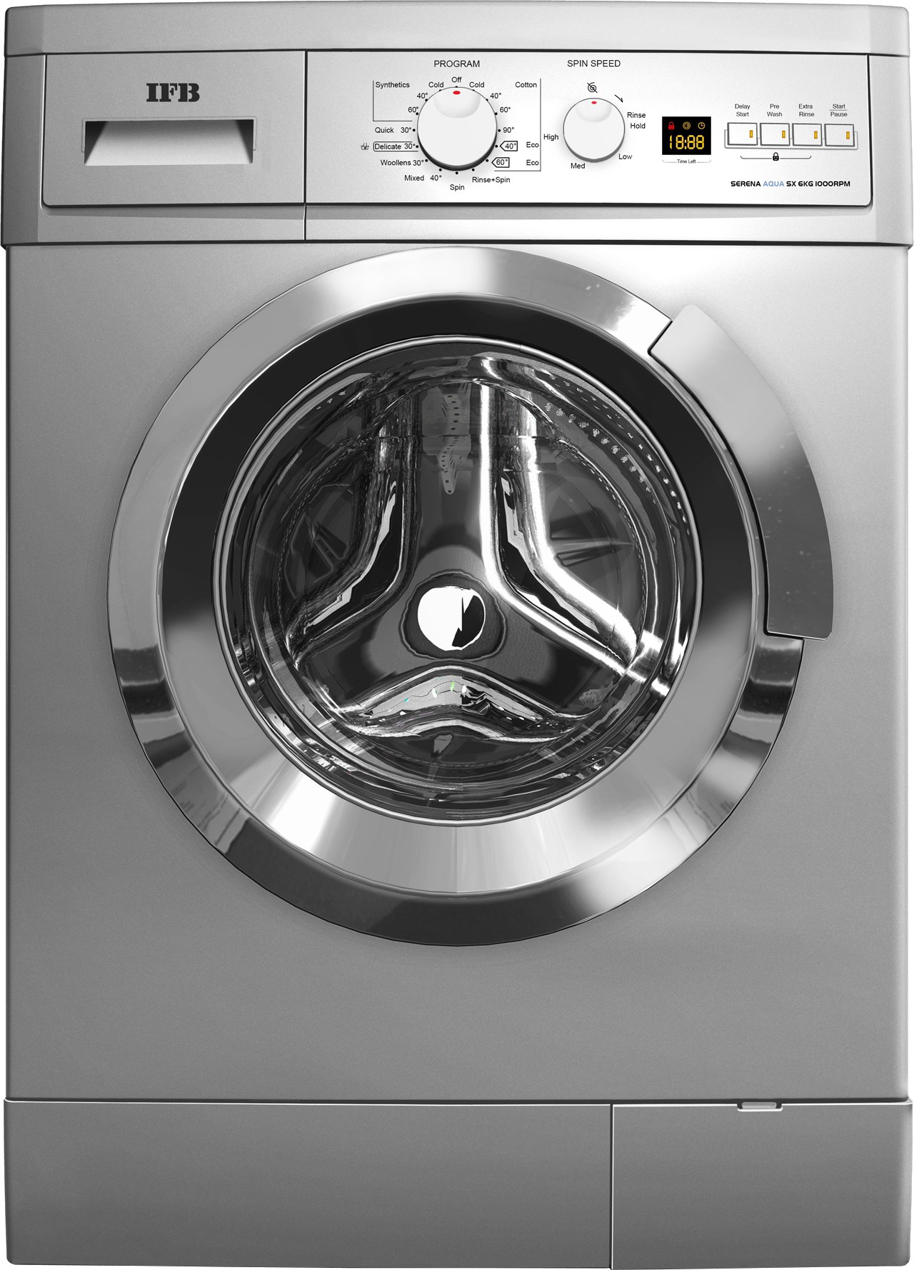 IFB 6 kg Fully Automatic Front Load Washing Machine(Serena Aqua SX LDT) (IFB)  Buy Online