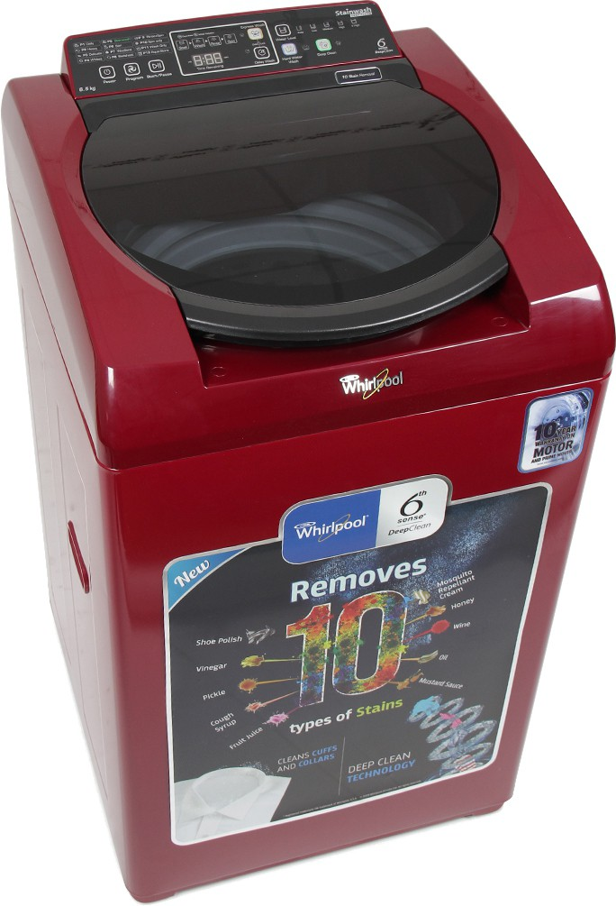 WHIRLPOOL STAINWASH D CLEAN DC65 6.5KG Fully Automatic Top Load Washing Machine