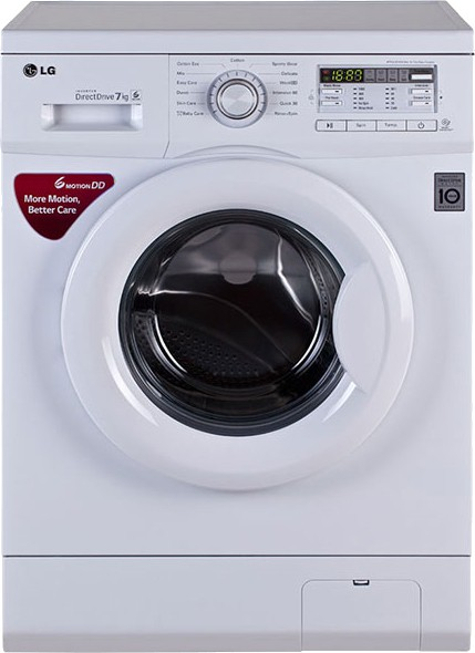 View LG 7 kg Fully Automatic Front Load Washing Machine(FH0B8QDL22)  Price Online