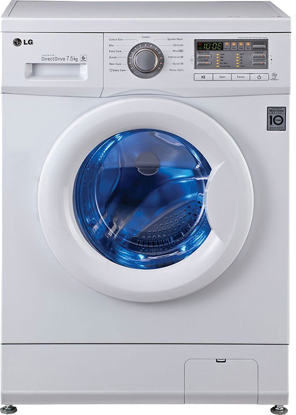 LG F10B8EDP2 7.5KG Fully Automatic Front Load Washing Machine