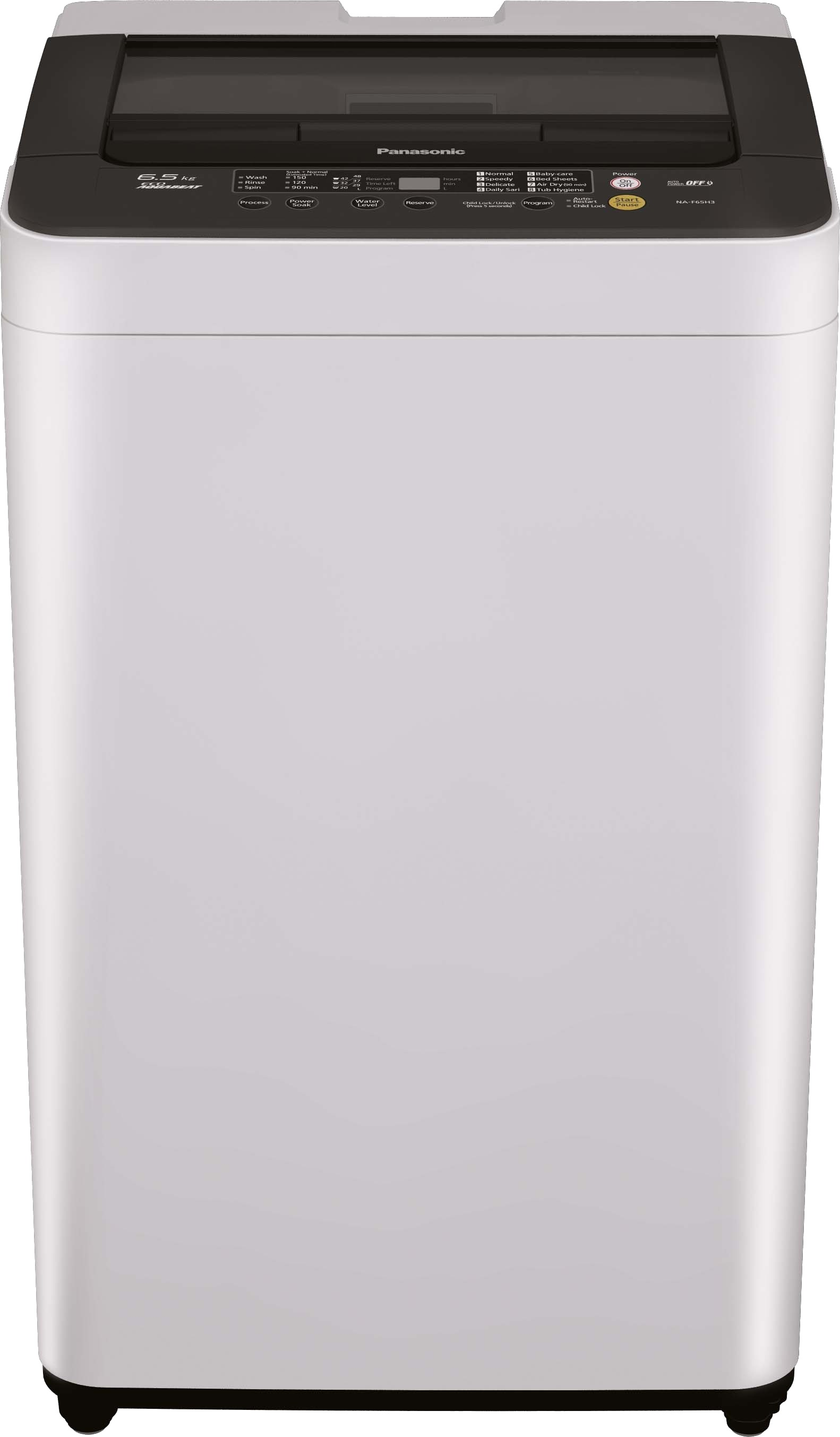 PANASONIC NA-F65B3HRB2 6.5KG Fully Automatic Top Load Washing Machine