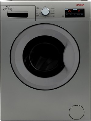 Onida 6 kg Fully Automatic Front Load Washing Machine Silver (WOF6510PS)