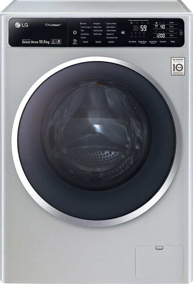 LG FH4U1JBSK4 10.5KG Fully Automatic Front Load Washing Machine
