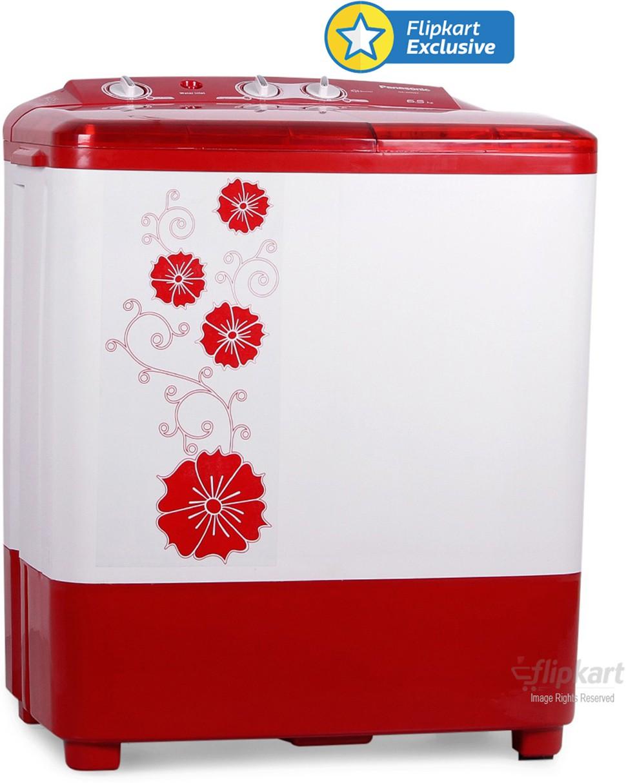 View Panasonic 6.5 kg Semi Automatic Top Loading Washing Machine  Price Online