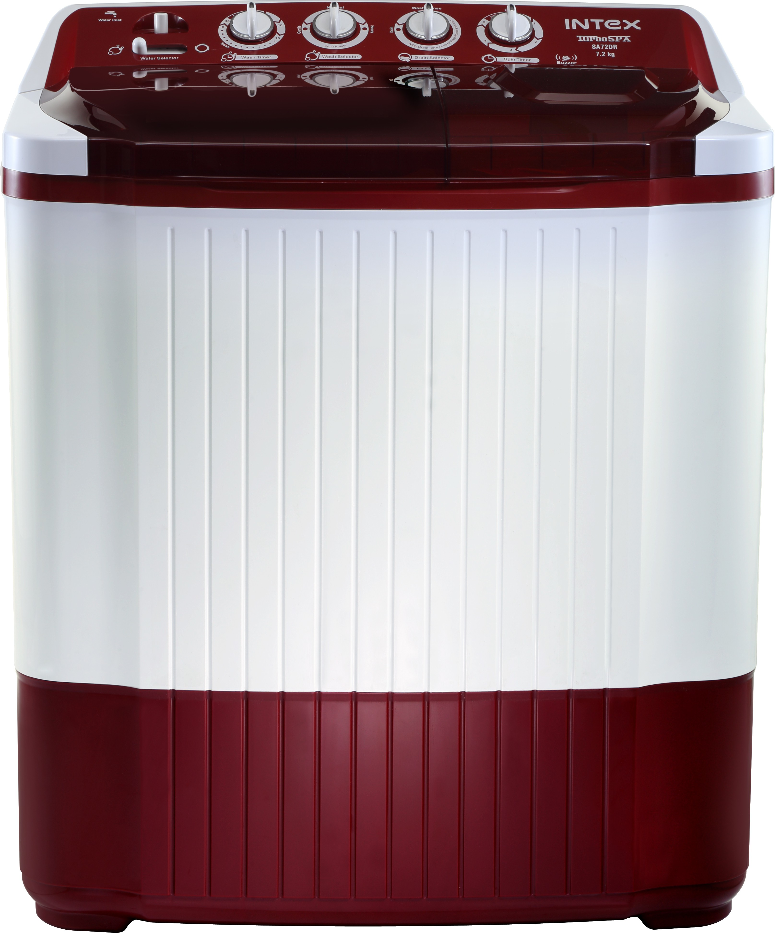 INTEX WM SA72DR-CVP 7.2KG Semi Automatic Top Load Washing Machine