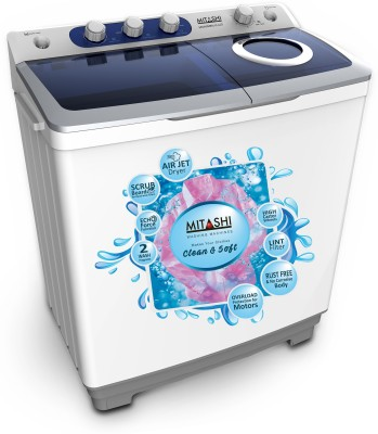 MITASHI MISAWM85V25 8.5KG Semi Automatic Top Load Washing Machine
