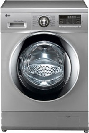 View LG 8 kg Fully Automatic Front Load Washing Machine(FH496TDL24)  Price Online