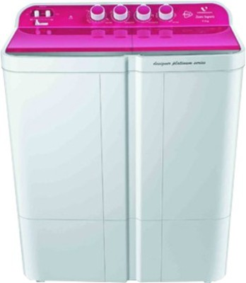 VIDEOCON WMVS75Z14-LPA 7.5KG Semi Automatic Top Load Washing Machine
