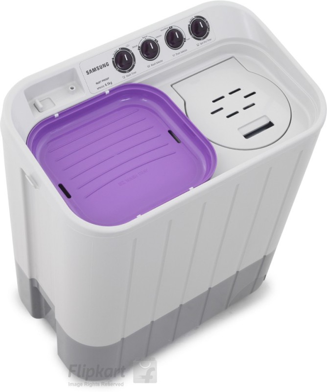 SAMSUNG 6.5 kg Semi Automatic Top Load Washing Machine(WT655QPNDRP/XTL)