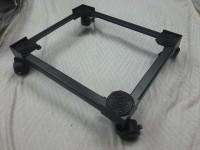 A.P. Furniture MS BLACK Washing Machine Trolley