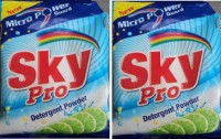 Kanmani Sky Pro 2000 g Washing Powder(Lemon)
