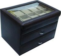 Essart Watch Box(Brown Holds 30 Watches)