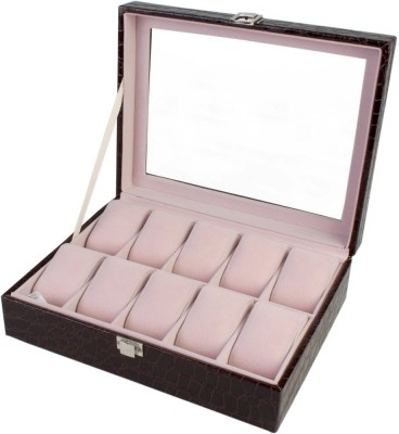 BlushBees 10 Slots Leather Watch Box