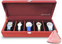 Anno Dominii Watch Box(Red Holds 5 Watches)