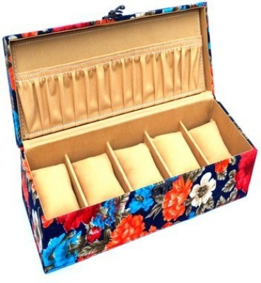 Kuero Floral print Watch Box