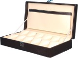 Fico Arto-1 Watch Box (Brown, Holds 12 W...