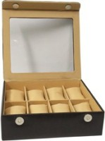 Essart Case 28 Watch Box(Black, Holds 8 Watches)