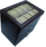 Essart Watch Box(Brown Holds 40 Watches)