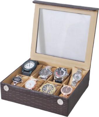 The Runner Croc Finish Transparent Watch Box