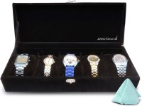 Anno Dominii Watch Box(Black Holds 5 Watches)