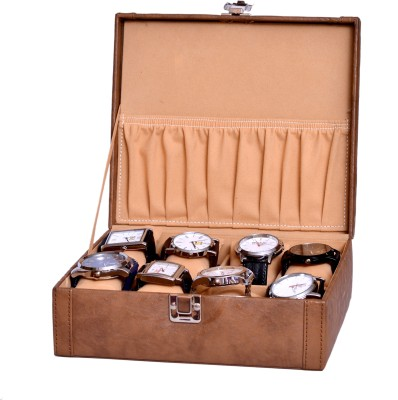 Borse Borse Tan Case without Watches Watch Box