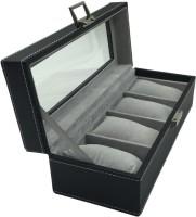 Knott Case Watch Box(Black Holds 4 Watches)