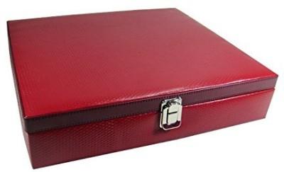 Shopkhalifa High Quality PU leather 18 Slots Watch Box