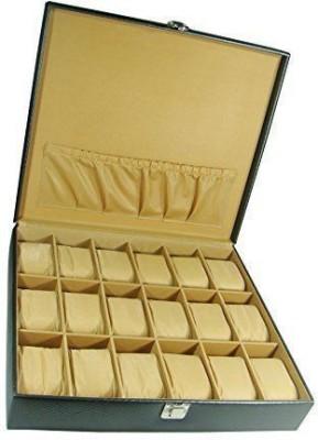 Shopkhalifa High Quality PU Leather Watch Box