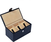 Ystore YWB13BL Watch Box(Black Holds 3 Watches)