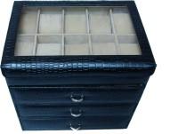 Essart Watch Box(Black Holds 40 Watches)