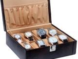 Borse BWC004 Watch Box (Brown, Holds 8 W...