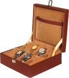 Leather World PU Leather Watch Box Watch...