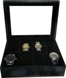 SLK Wooden (Charcoal Black) Watch Box (B...