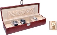Essart Protection Watch Box(Red Holds 6 Watches)
