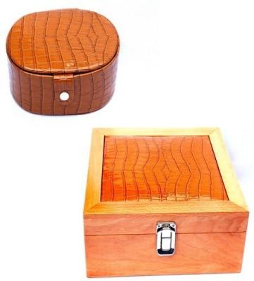 Kuero Crocodile watchbox combo Watch Box