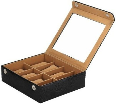 Shopkhalifa High Protection Case for watches 8 Slots Watch Box