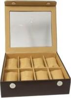 Essart Case 29 Watch Box(Brown Holds 8 Watches)