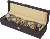 Dsigner Watch Box(Brown Holds 5 Watches)