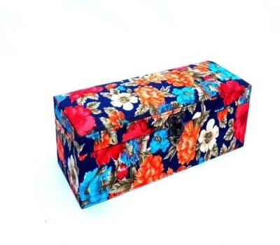 Kuero Blue Floral Watch Box