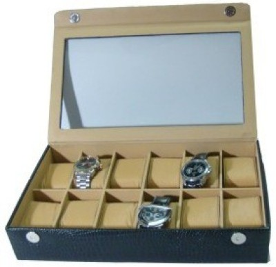 Shopkhalifa Brand Protection Luxry Cases for watches 12 Slots Watch Box