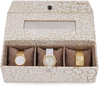 Ecopro Aurora Watch Box (White, 3 Watches)