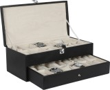 Hardcraft Dany-01 Watch Box (Black, Hold...